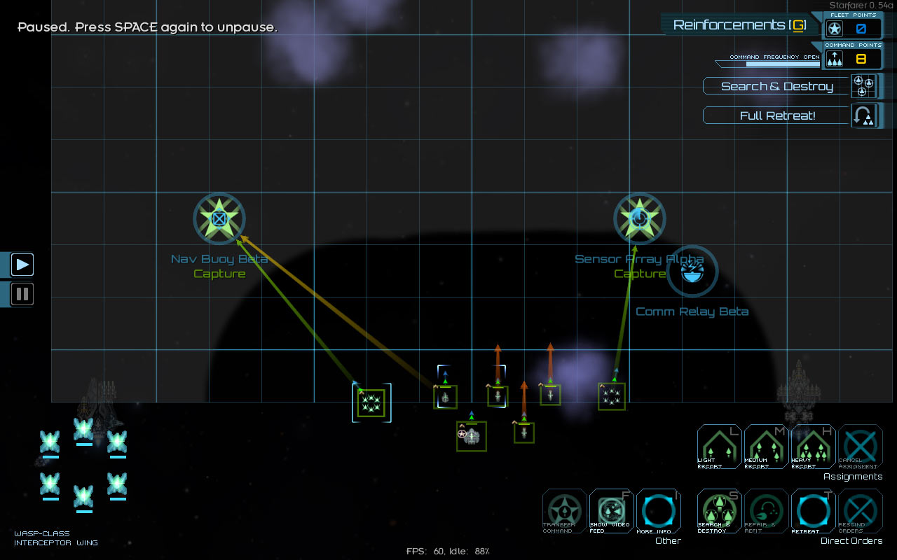 New command UI